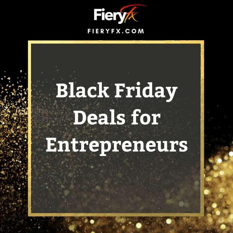 Black Friday Deals for Entrepreneurs